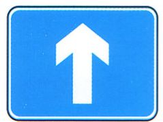'Ahead' Arrow